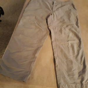 Columbia mens hiking Camp pants Casual lightweight